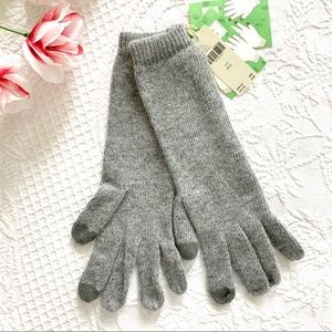 NWT Anthropologie Cashmere Wool Danby Tech Gloves
